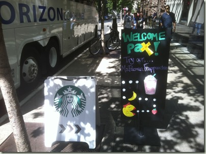 Starbucks Welcomes PAX