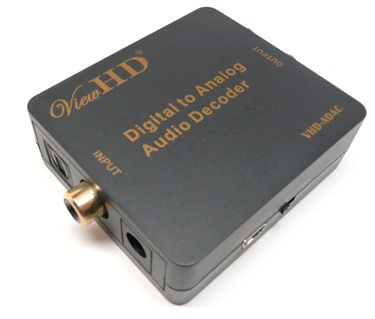 ViewHD Digital to Analog Audio Decoder