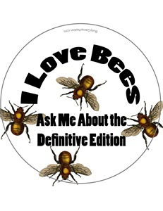 I Love Bees Definitive Edition Promo Button