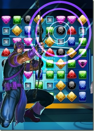 Taking Aim! Marvel Puzzle Quest