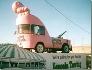 The real Lincoln's Toe Truck
