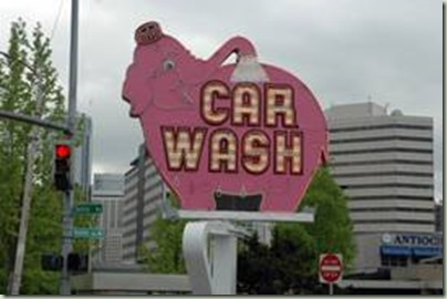 The real Elephant Super Car Wash