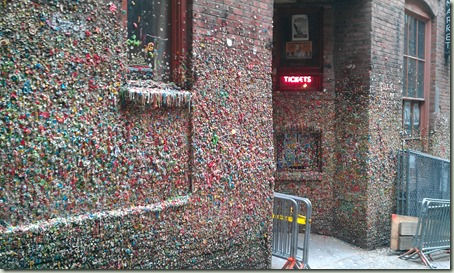 The Post Alley Gum Wall
